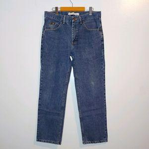 Vintage Lee Regular Fit Mens Jeans 33 x 30
